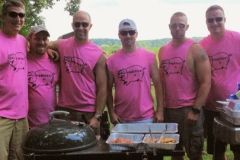 Create customized t-shirts for your upcoming barbeque