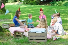 How a nanny could help you organise your children's garden party
